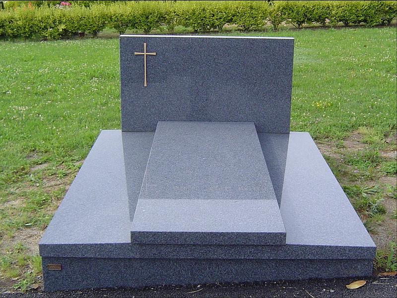 Monument funéraire Borro bleu