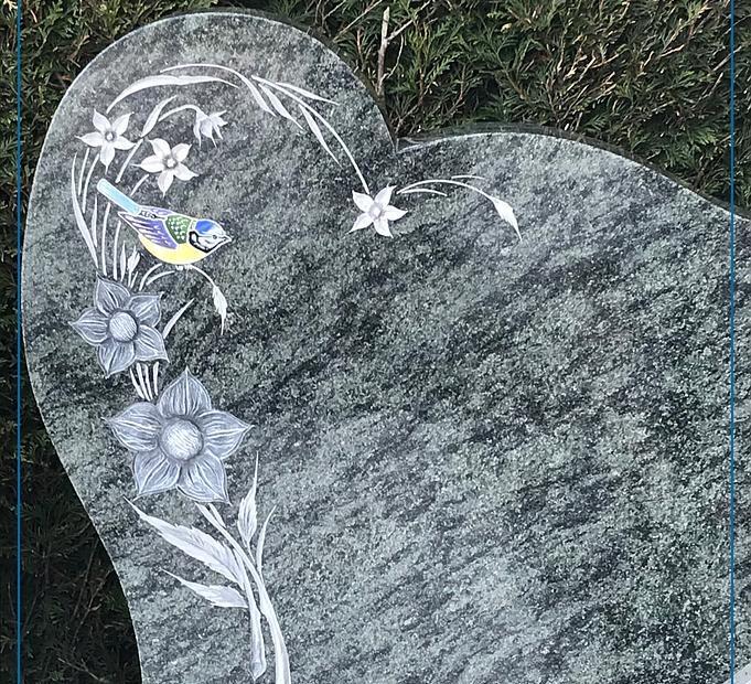 Gravure funéraire Borro